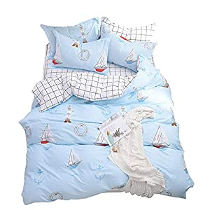 51rsNswNY1L._SS300_ 100+ Nautical Duvet Covers and Nautical Coverlets For 2020