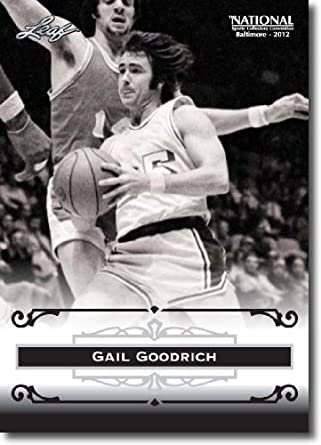 5923828309c Amazon.com  2012 Leaf HOF Baltimore National Sports Collector Promo  GG1 Gail  Goodrich - Los Angeles Lakers (Basketball Hall of Fame)(Collectible Trading  ...