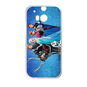 Frozen Princess Elsa Anna Kristoff Olaf Sven Hans Cell Phone Case for HTC One M8