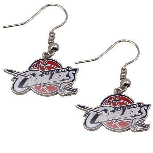 NBA Cleveland Cavaliers Team Logo Dangle Earrings
