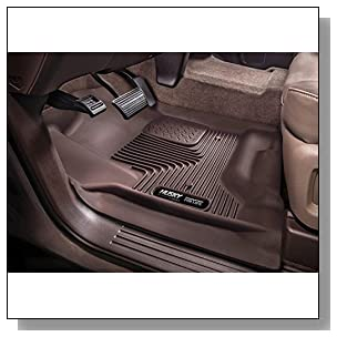 Husky Liners Front Floor Liners Fits 15-18 F150 SuperCrew/SuperCab (Color - cocoa)