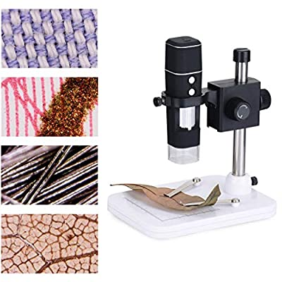 lipiny Wireless Digital Microscope USB 1000x Magnification Endoscope Magnifier Handheld Microscope Camera with 8 Led Lights for Phone Tablet PC: Toys & Games