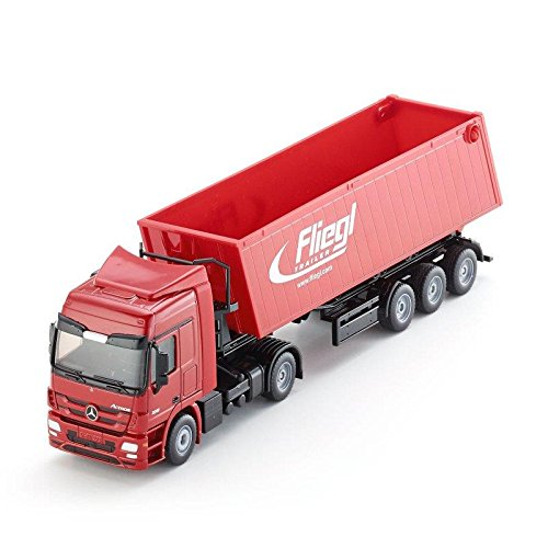 1:50 Siku Lorry With Trough Tipper (Actros Truck Accessories compare prices)