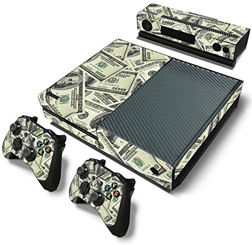 ModFreakz™ Console/Controller Vinyl Skin Set - Money 100 Dollar Bill for Xbox One Original