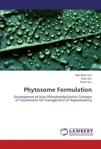 Phytosome Formulation: Development of Soya Phosphatidylcholine Complex of Coumestans for management of Hepatotoxicity