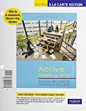 Active Reading Skills : Reading and Critical Thinking in College, Books a la Carte Plus MyReadingLab with Pearson EText -- Access Card Package, McWhorter, Kathleen T. and Sember, Brette M., 0134019059