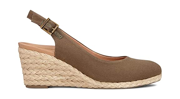 868165d3702 Vionic Women's Aruba Coralina Slingback Wedge - Espadrille Wedges with  Concealed Orthotic Arch Support