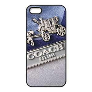 SANLSI Coach design fashion cell phone case for iPhone 5S