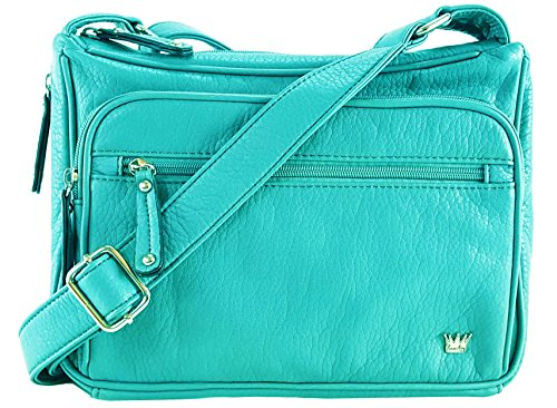 - Purse King Magnum Concealed Carry Handbag (Turquoise)