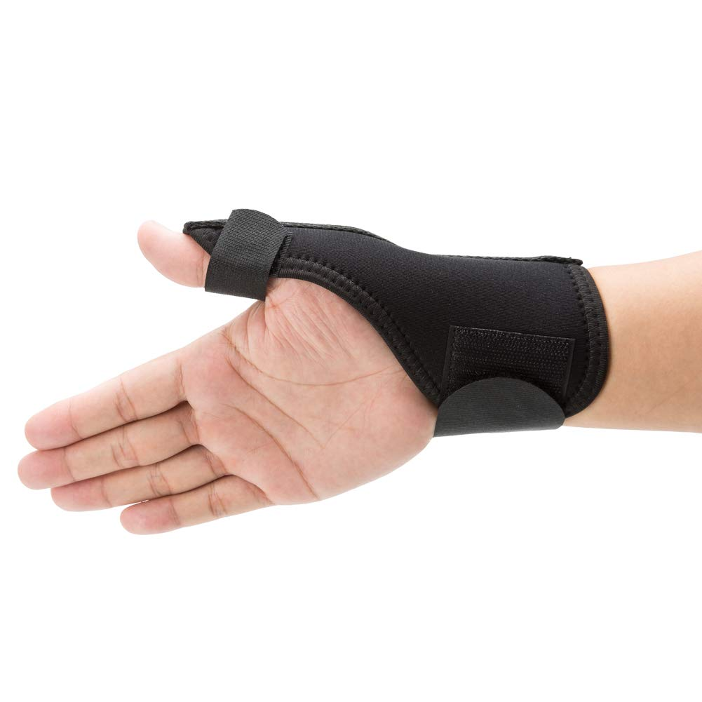 Thumb Brace, Thumb Wrist Spica Stabilizer Splint for Pain Relief, Arthritis, Tendonitis, Sprained and Carpal Tunnel-Medium