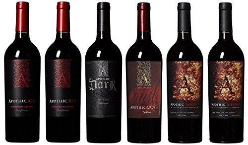 Apothic California Inferno Mixed Pack 6 Bottles