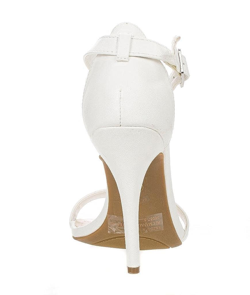 20d0d3fae Amazon.com | Anne Michelle Womens Enzo-01N Pumps Shoes | Heeled Sandals