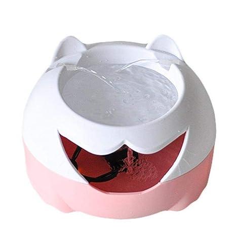 farmer-w Dispensador de Agua para Mascotas Gato y Perro 3L Filtro Profundo Bebedero de