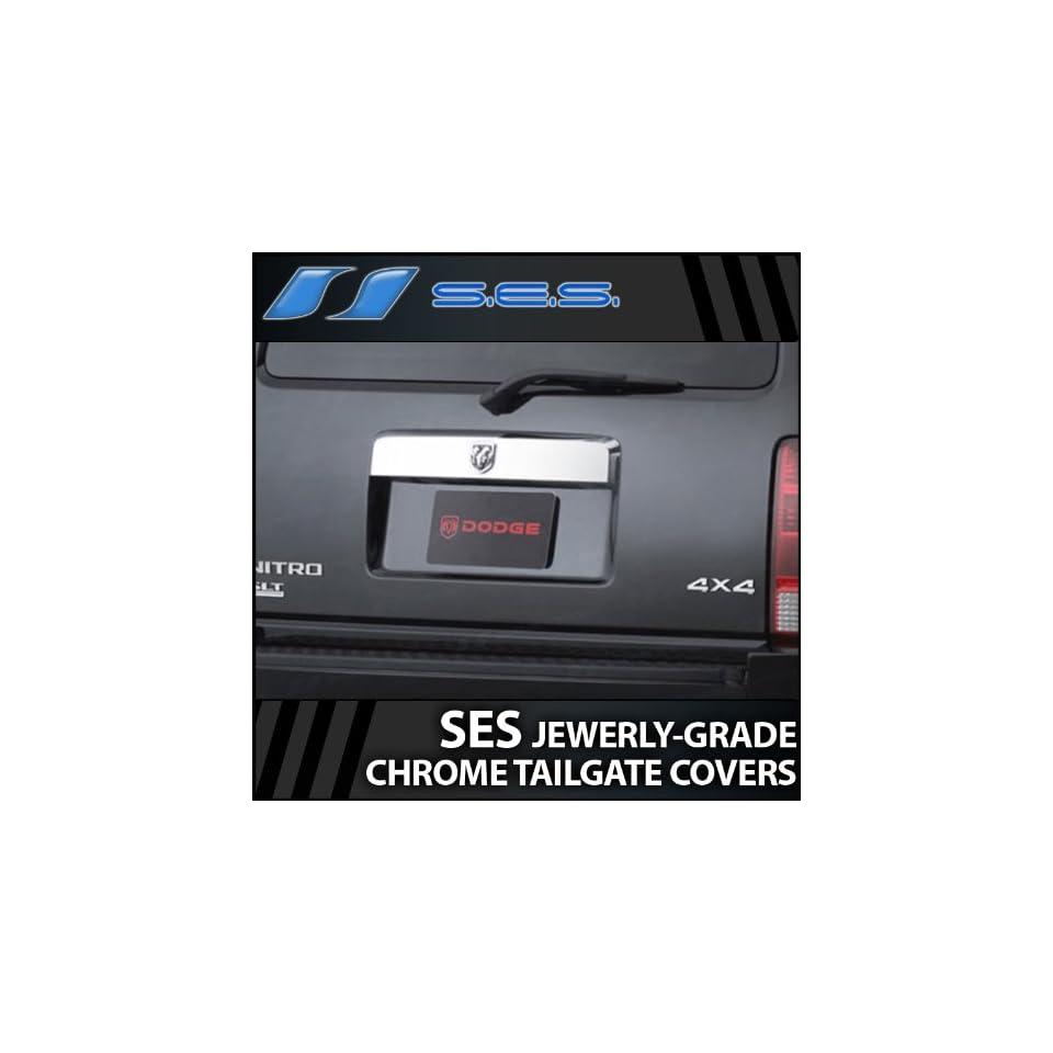 2007 2011 Dodge Nitro SES Chrome Tailgate Handle Cover