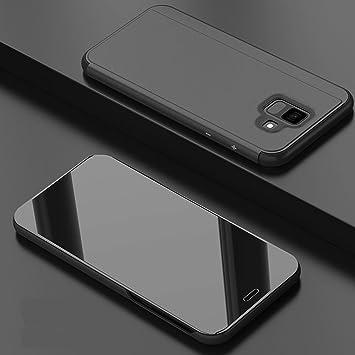 Leeook - Funda de Piel con Tapa para Samsung Galaxy A6 Plus 2018 ...