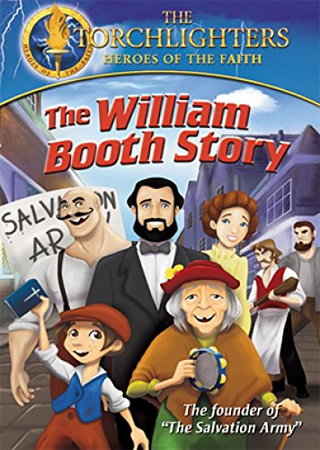 DVD : Torchlighters: William Booth (DVD)