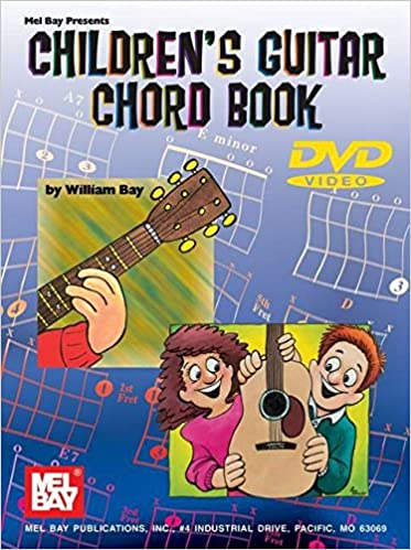 Mel Bay Childrens Guitar Chord Book William Bay 9780786632152