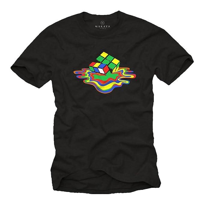 Makaya Rubik Hombre De Camiseta Cubo UVzMpS