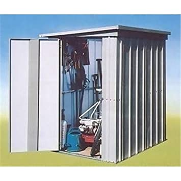 belfast 3 5 x 4 9 pent metal shed