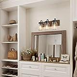 LNC Bathroom Vanity Fixtures Farmhouse Mason Jar