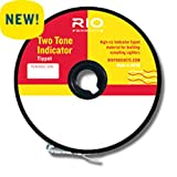 RIO Fly Fishing Tippet 2-Tone Indicator Tippet 4X Fishing Tackle, Clear Review