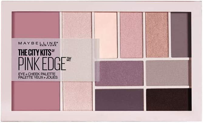 Maybelline New York The City Kits Eye+Cheek Palette 02 Pink Edge Paleta do makijażu 12g
