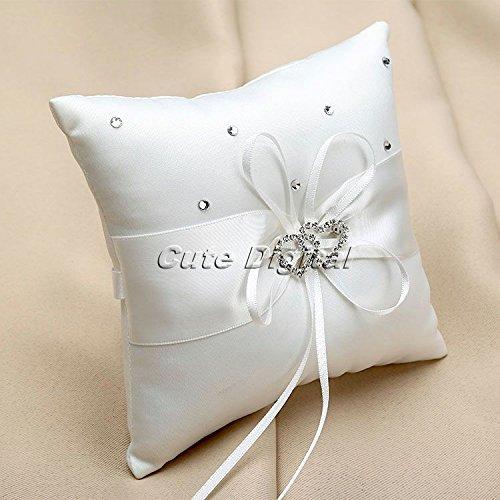 EverTrust (TM) boda decoraciones anillos de boda almohada ...