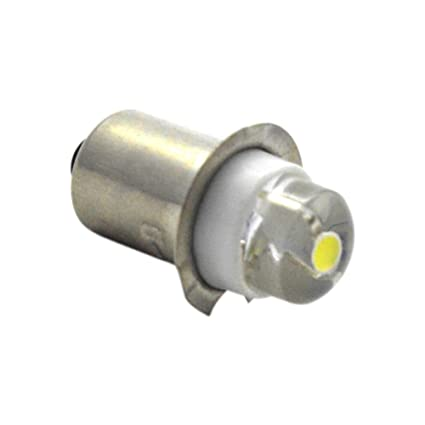 Ruiandsion P13.5 - Bombilla LED para linterna (LED, CC 3 V,