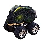 Iusun 4pcs Dinosaur Model Mini Toy Cars, Super Cool Animal Pull Back Cars For Kids Adults Gift Toys from Iusun Gift Toys