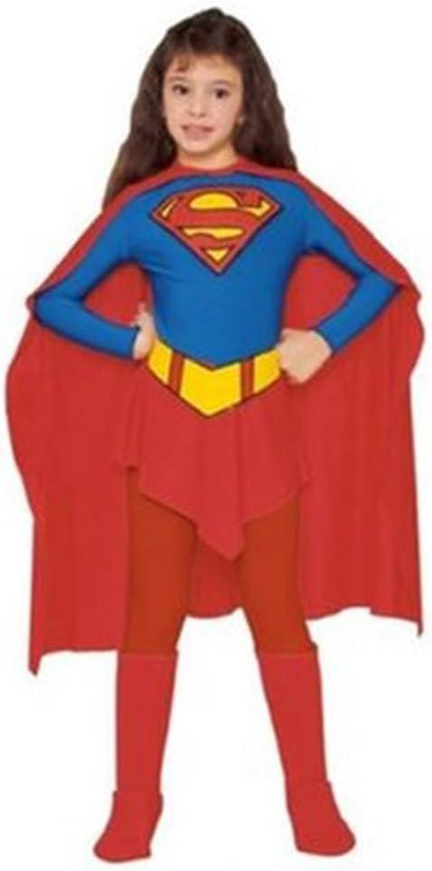 Super girl heroína Superwoman 4 a 6 años Cesar disfraz infantil ...