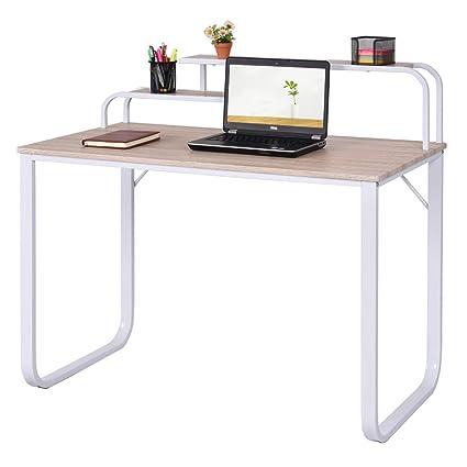 size 40 5e5c6 6ad16 TANGKULA Computer Desk Laptop Writing Desk Student Study Desk Modern Simple  Style Home Office Desk Large Size PC Laptop Study Table Workstation ...