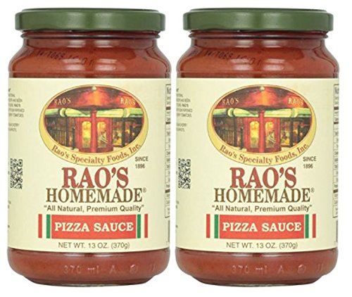 Marinara Sauce Recipe - Rao's Homemade All Natural Pizza Sauce -13 oz (Pack of 2)