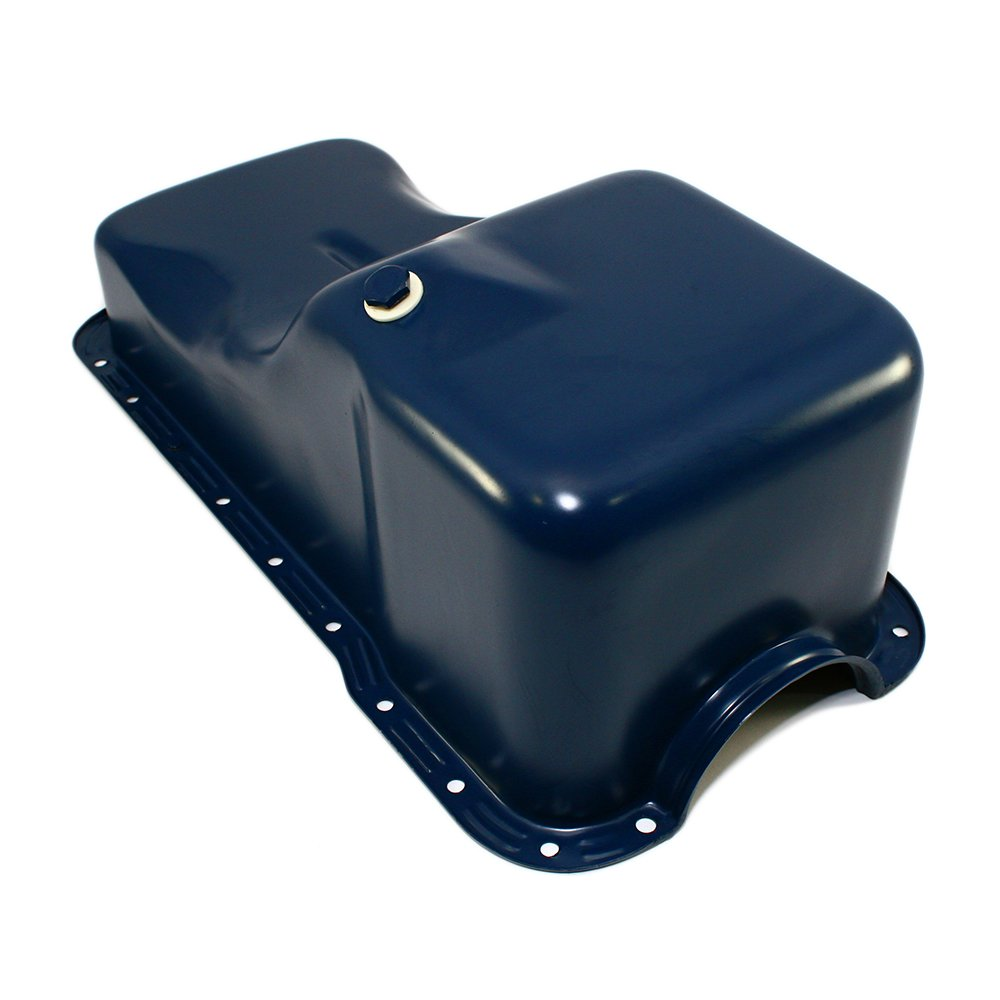 Assault Racing Products A9532 for Ford 351W Windsor Dark Blue Stock Style 5qt Oil Pan