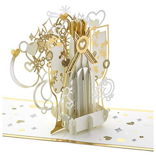 (Hallmark Signature Paper Wonder Pop Up Anniversary Card (Pop The Champagne) )