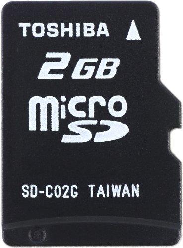 Toshiba 2GB MicroSD Memoria Flash Clase 4 - Tarjeta de ...