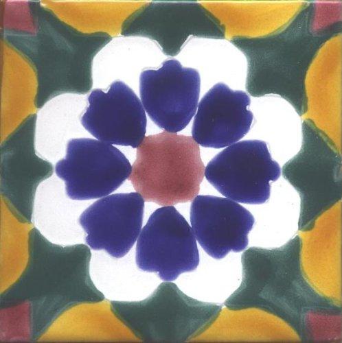 Amazoncom Decorative Ceramic Tile Geesimpla Design Set Of - 4 inch decorative ceramic tile