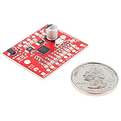 SparkFun Big Easy Driver Stepper Motor Driver Board for bi-Polar Stepper Motors up to a max 2A/Phase Maximum Motor Drive Voltage of Around 30V Includes on-Board 5V/3.3V Regulation Allegro A4988 Chip: Toys & Games