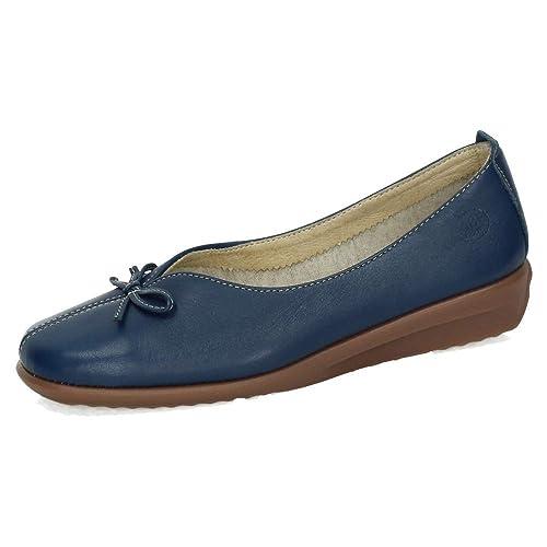 De Mujer Horas Manoletinas MocasínAmazon Piel Zapatos 48 91040122 CsrdthQx