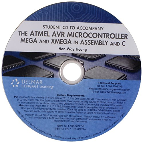 Student CD-ROM for Huang's The Atmel AVR Microcontroller: MEGA and XMEGA in Assembly and C Pdf