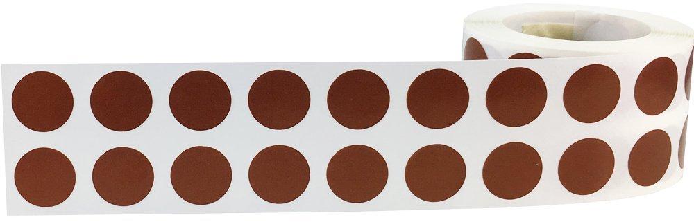 W/üstensand Kreis Punkt Aufkleber 13 mm 1//2 Zoll Runde 1000 Etiketten auf einer Rolle