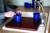 Camco Oak Accents Silent Top Stovetop Cover