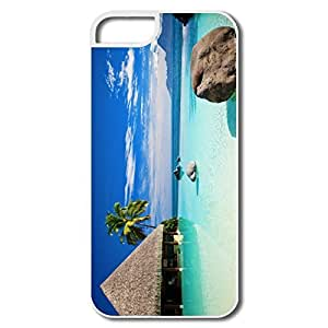Generic Somewhere Maldives Plastic Case For IPhone 5/5s wangjiang maoyi