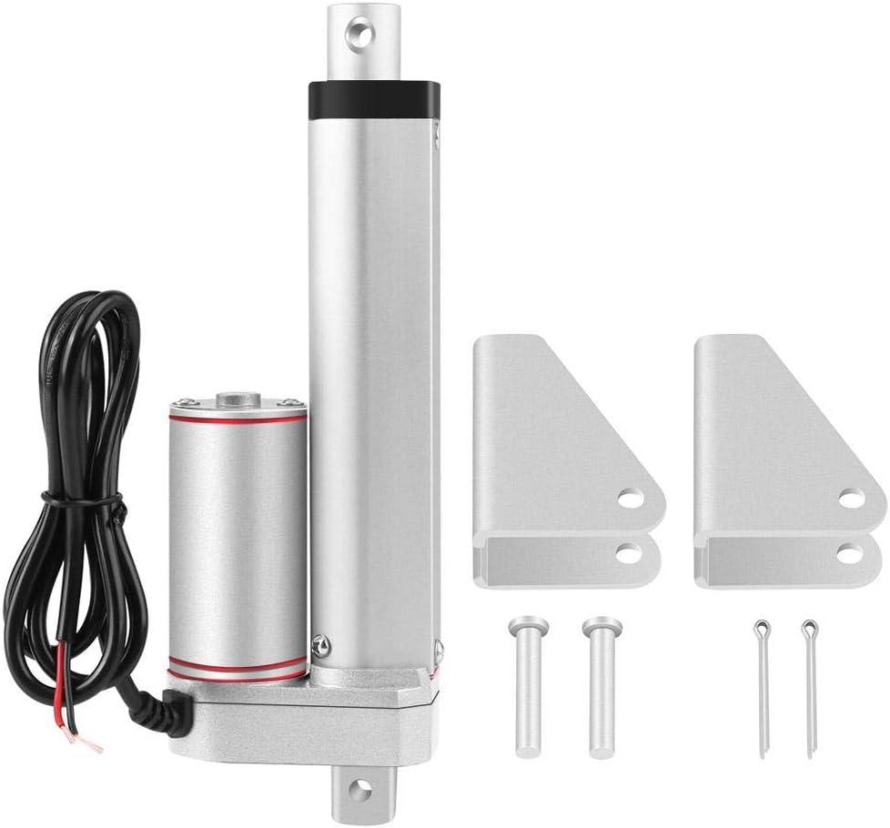 Actuador lineal,Delaman Stroke High Duty 750N Línea recta Actuador lineal eléctrico 100mm 24V