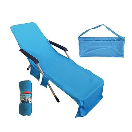 Strange Amazon Com Winomo Beach Chair Cover Sun Lounge Chair Cover Camellatalisay Diy Chair Ideas Camellatalisaycom