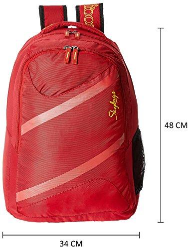 Skybags , Herren Schultertasche Rot rot 38 cm