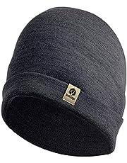 Bush Edge 100% Merino Wool Cuff Beanie Hat