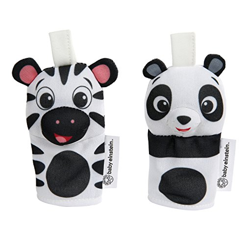 (Baby Einstein Contrast Critters High Contrast Finger Puppets)