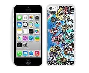 MMZ DIY PHONE CASEvocaloids White Hard Plastic iphone 6 4.7 inch Phone Cover Case