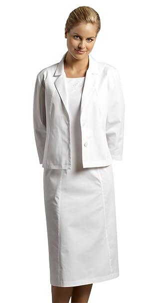 Amazon.com: Cruz Blanca 2 piezas Enfermera o Iglesia Suit ...