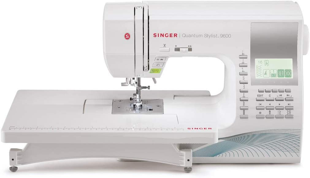 Quantum Stylist 9960 Computerized Portable Sewing Machine with 600-Stitches Electronic Auto Pilot